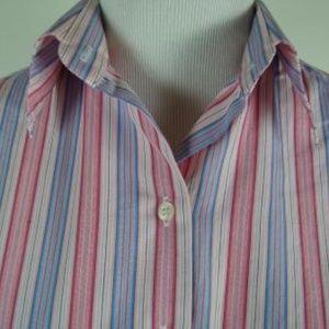 PINK THOMAS PINK Stripe SUPERFINE 2-fold Shirt 10